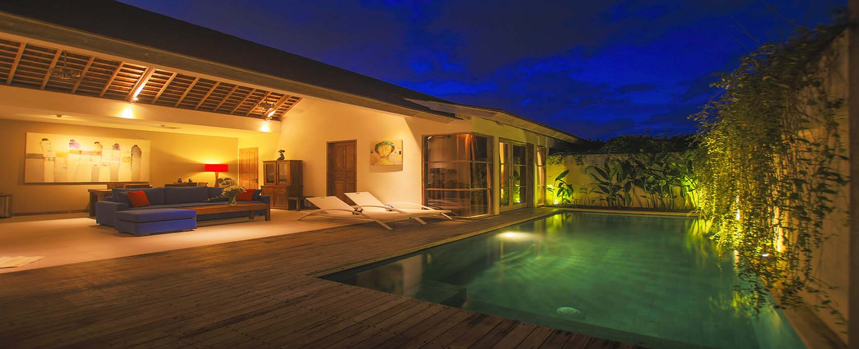 Villa with pool for rent in Bali Legian
